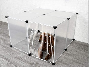BEST FOR PUPPIES CLEAR DOG CAGE