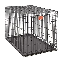 BEST FOR PUPPIES FOLDING METAL DOG CRATE Summary