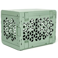 BEST INDOOR COLLAPSIBLE PLASTIC DOG CRATE Summary