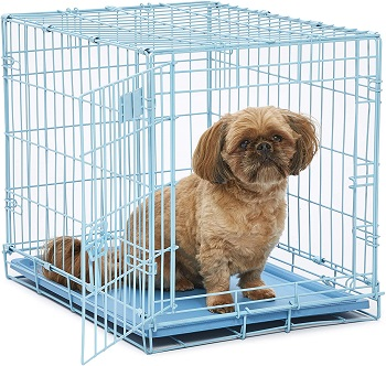 BEST LIGHT BLUE COLORED DOG CRATE