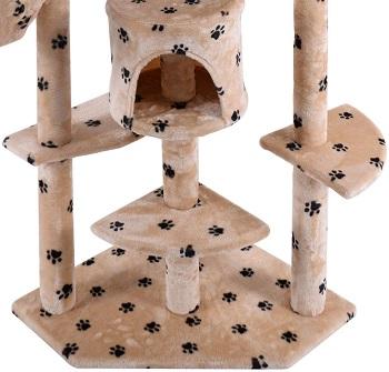 BEST MODERN 7 FOOT CAT TREE