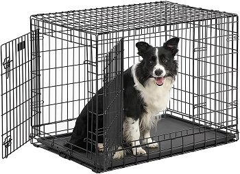 BEST OF BEST 36 INCH DOG CRATE WITH DIVIDER
