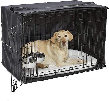 BEST INDOOR 42 DOG CRATE WITH DIVIDER