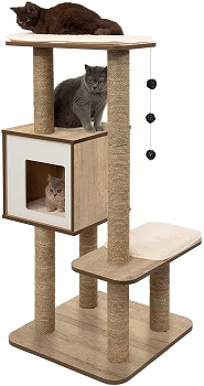 BEST OF BEST ALL WOOD CAT TREE