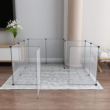 BEST OF BEST CLEAR DOG CAGE