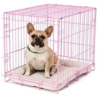 BEST PINK WIRE COLORED DOG CRATE Summary