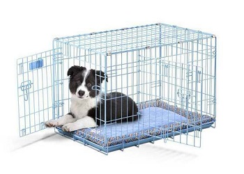 BEST SMALL ADJUSTABLE SIZE DOG CRATE