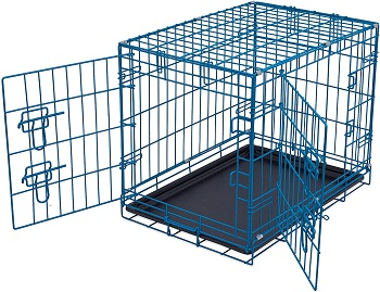 BEST SMALL BLUE DOG CRATE