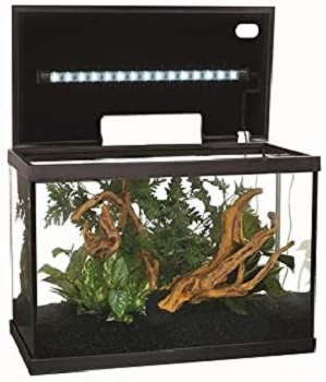 BEST WITH FILTER 10 GALLON AQUARIUM HOOD WITH LIGHT