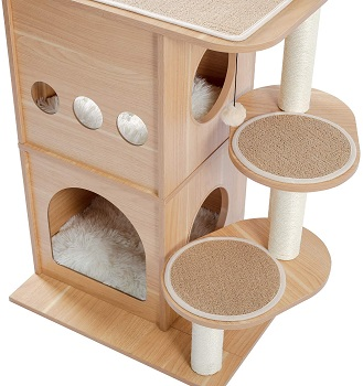 BEST WITHOUT CARPET AMAZING CAT TREE