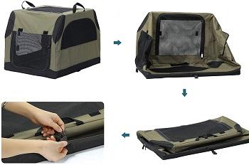 Petsfit Portable Medium Dog Crate