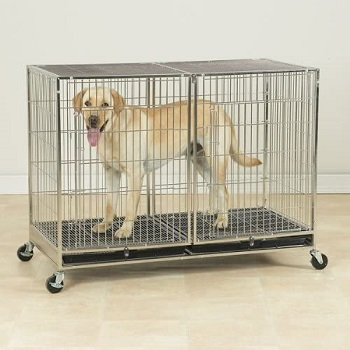 ProSelect Stainless Steel Dog Cage