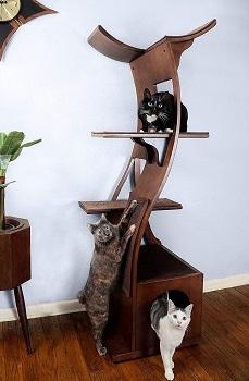The Refined Feline Cat Tower