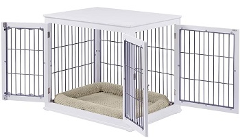 Unipaws Large Wood Pet Crate