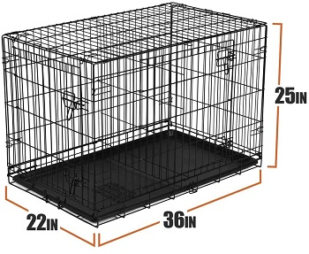 Vibrant-Life Folding Wire Dog Crate