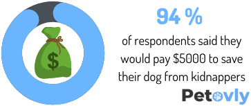 they would pay $5000 to save their dog from kidnappers