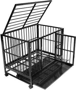 BEST CHEAP 48 INCH HEAVY DUTY DOG CRATE