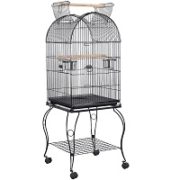 BEST COCKATIEL VINTAGE BIRD CAGE WITH STAND Summary