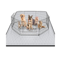 BEST FOR PUPPIES NON SLIP MAT FOR UNDER DOG CRATE Summary