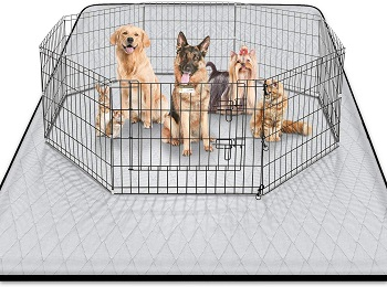 BEST FOR PUPPIES NON SLIP MAT FOR UNDER DOG CRATE