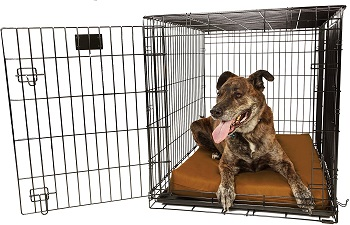 BEST LARGE DURABLE DOG CRATE PAD