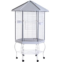 BEST LARGE VINTAGE BIRD CAGE WITH STAND USmmaryy