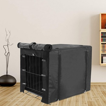 BEST MEDIUM BREATHABLE CRATE COVER