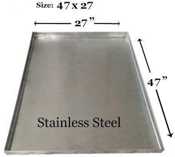 BEST METAL XL DOG CRATE TRAY