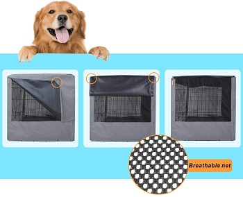 BEST OF BEST BREATHABLE DOG CRATE
