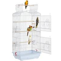 BEST OF BEST LARGE WHITE BIRD CAGE Summary