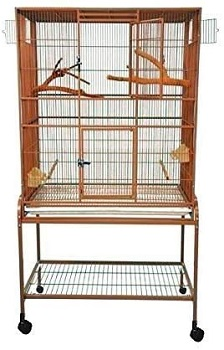 BEST ON WHEELS EXTRA LARGE PARAKEET CAGE