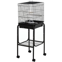 BEST ON WHEELS SMALL BUDGIE CAGE Summary