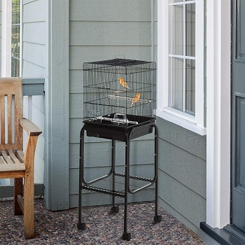 BEST ON WHEELS SMALL BUDGIE CAGE