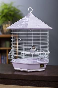 BEST PARAKEET ANTIQUE HANGING BIRD CAGE