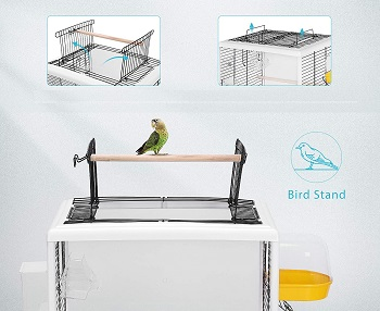 BEST PLASTIC SMALL BUDGIE CAGE