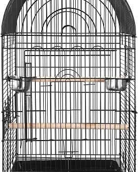 BEST ROUND ANTIQUE BIRD CAGE STAND