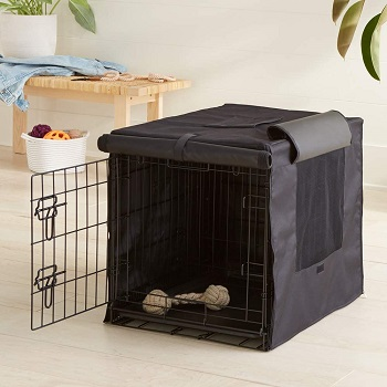 BEST SMALL BREATHABLE DOG CRATE COVER