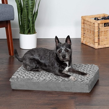 BEST SMALL ORTHOPEDIC DOG CRATE BED
