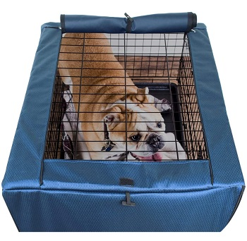 BEST TRAVEL BREATHABLE DOG CRATE COVER