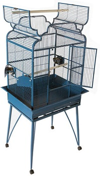 BEST VICTORIAN STYLE BIRD CAGE WITH STAND