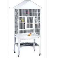 BEST WITH STAND LARGE WHITE BIRD CAGE SUmmary