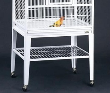 BEST WITH STAND LARGE WHITE BIRD CAGE