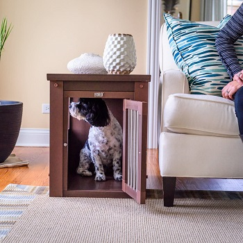 BEST WOODEN 18 X 24 DOG CRATE