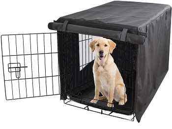 BEST XL BREATHABLE CRATE COVER