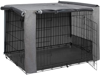 BEST XL WATERPROOF DOG CRATE COVER