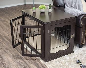 Birdrock Home Wooden Dog Crate