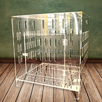 Lucite Acrylic Dog Crate