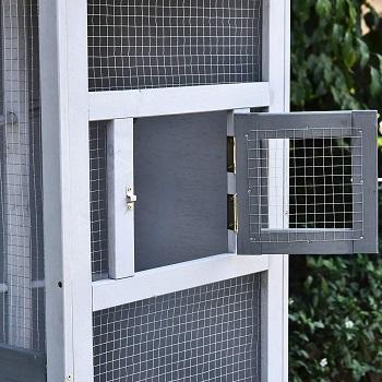 PawHut Wooden Outdoor Bird Cage