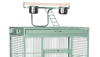 Prevue Pet Products Wrought Iron Cage