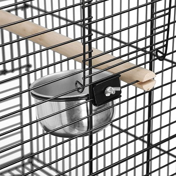 Super Deal 63.5'' Rolling Bird Cage